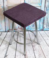 """Подушка на стул """"Velours Cuadro"""" (33х33 см; фиолетовая)"""