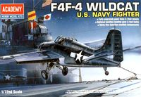 Самолет Grumman F4F-4 Wildcat (масштаб: 1/72)