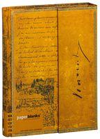 "Записная книжка Paperblanks ""Ван Гог. Зарисовки"" в линейку (формат: 180*230 мм, ультра)"