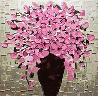 "Картина по номерам ""Розовый букет"" (400х400 мм)"