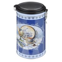 "Банка для сыпучих продуктов ""Синий натюрморт"" (1800 мл, арт. 37636)"