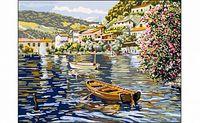 """Картина по номерам """"Город на воде"""" (400x500 мм)"""