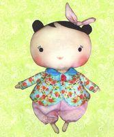 """Набор для шитья из ткани """"Малышка Ханни"""""""