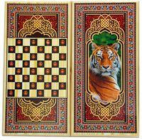 """Шашки и нарды """"Тульские. Тигр"""" (средние)"""