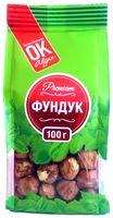 """Фундук очищенный """"Premium ОК!"""" (100 г)"""