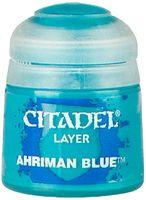 """Краска акриловая """"Citadel Layer"""" (ahriman blue; 12 мл)"""