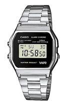 Часы наручные (серебристые; арт. A158WEA-1EF)