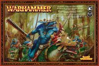 "Набор миниатюр ""Warhammer FB. Lizardmen Cold One Rider Regiment (Saurus Cavalery)"" (88-11)"