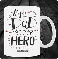 "Кружка ""My Dad is my Hero"""