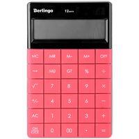 Калькулятор настольный (12 разрядов; темно-розовый)