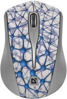 Мышь беспроводная Defender StreetArt MS-305 Nano (белая)