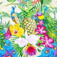 """Полотенце вафельное """"Гавайи"""" (100х150 см)"""