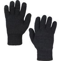 Перчатки вязаные (чёрные)