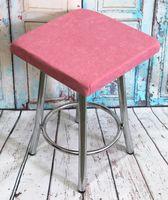"""Подушка на стул """"Velours Cuadro"""" (33х33 см; светло-розовая)"""