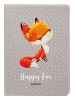 "Обложка на паспорт ""Happy Fox"""