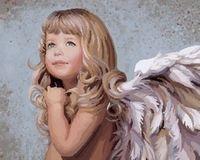 """Картина по номерам """"Белокурый ангел"""" (400x500 мм; арт. MG338)"""