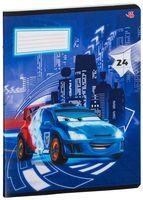"""Тетрадь в линейку """"Cars"""" (24 листа; в ассортименте)"""