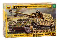 """Немецкий истребитель танков """"Фердинанд"""" (масштаб: 1/35)"""