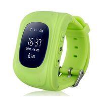 Детские часы SmartBabyWatch Q50 (зеленые)