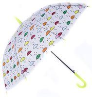 """Зонт-трость """"Зонтики"""" (75 см)"""
