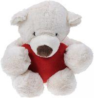 """Мягкая игрушка """"Медведь с красным сердцем"""" (38 см)"""