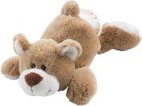 """Мягкая игрушка """"Медведь лежачий карамельный"""" (20 см)"""