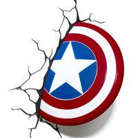 Декоративный светильник - Капитан Америка. Щит