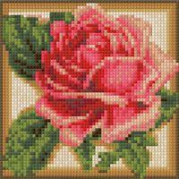 """Алмазная вышивка-мозаика """"Румяная роза"""""""