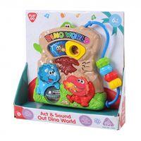 """Развивающая игрушка """"Мир динозавров"""" (со световыми эффектами)"""