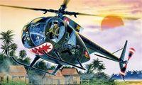 "Легкий вертолет ""OH-6 A Cayuse"" (масштаб: 1/72)"