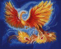 "Вышивка крестом ""Птица счастья"" (230x180 мм)"