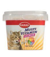 "Витамины для кошек ""Multi Vitamin Salmon Cup"" (100 г)"
