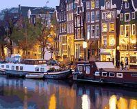 """Картина по номерам """"Амстердам"""" (400х500 мм)"""