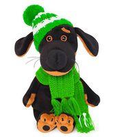 """Мягкая игрушка """"Ваксон Baby в шапочке и шарфе"""" (19 см)"""