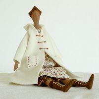 """Кукла ручной работы """"Ангел осени"""""""
