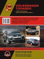Volkswagen Touareg с 2002 г. (включая обновления 2006 г.) Руководство по ремонту и эксплуатации