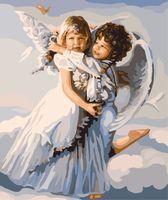 "Картина по номерам ""Ангелочки"" (400х500 мм; арт. PC4050064)"