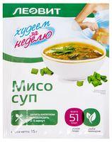 """Суп быстрого приготовления """"БиоСлимика. Мисо суп"""" (15 г)"""