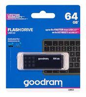 USB Flash Drive 64Gb Goodram (черный) (UME3-0640K0R11)