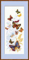 """Вышивка крестом """"Бабочки России"""" (арт. 902)"""