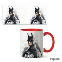 """Кружка """"Бэтмен из вселенной DC"""" (арт. 446, красная)"""