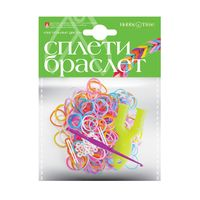 """Набор для плетения из резиночек """"Пастельные цвета"""" (300 шт.)"""