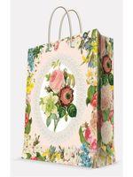 "Пакет бумажный подарочный ""Весенний сад"" (17,8х22,9х9,8 см; арт. 39649)"