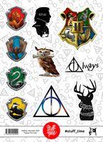 """Набор бумажных наклеек №9 """"Гарри Поттер"""" (арт. 0009)"""