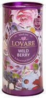 """Чай черный листовой """"Lovare. Дикие ягоды"""" (80 г; в банке)"""