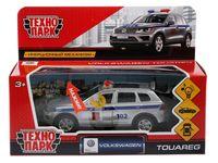 """Модель машины """"VW Touareg. Полиция"""" (со световыми и звуковыми эффектами; арт. TOUAREG-P-SL)"""