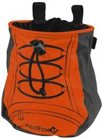 """Мешочек для магнезии """"Back bag"""" (оранжевый-асфальт)"""