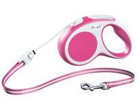 "Поводок-рулетка для собак ""Vario"" (розовый, размер S, до 12 кг/5 м, арт. 12016)"