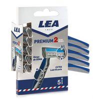 Станок для бритья одноразовый LEA II Comfort Men (5 шт)