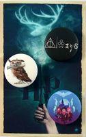 """Набор значков маленьких """"Гарри Поттер"""" (арт. 284)"""